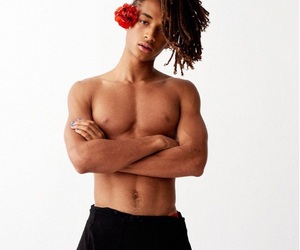jaden smith, boy, and model image