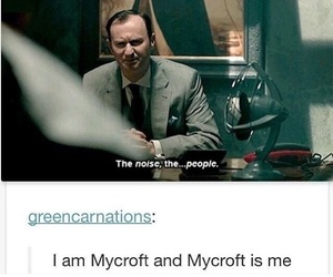 sherlock, mycroft, and funny image