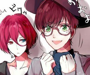 anime, moons, and anime boy image