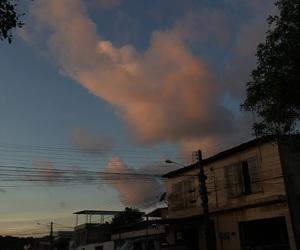 sunset, ⛅, and pordosol image