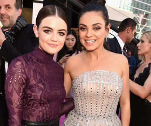 Mila Kunis and lucy hale image
