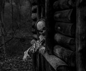 clown, horror, and creepy image