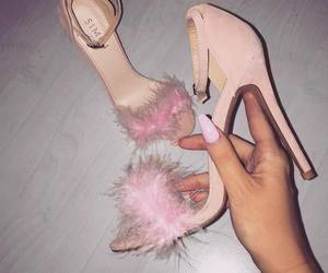 beauty and pink shoes image