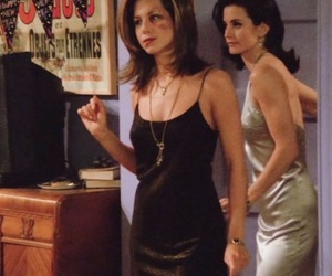 dress, rachel green, and friends image