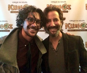 henry ian cusick, the 100, and bob morley image