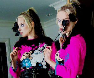 Alice Glass, model, and sad image