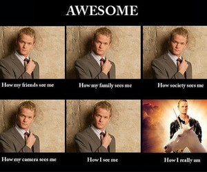 awesome, funny, and how i met your mother image