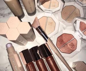 makeup, beauty, and rihanna image