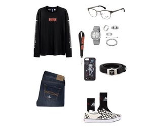 adidas, vans, and prada milano image