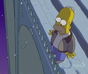 Homero, simpsons, and suicide image