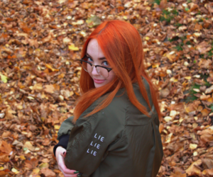 autumn, style, and girl image