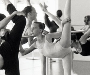 ballerina, ballet, and black and withe image