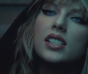 music video, Reputation, and Taylor Swift image