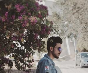 beard, blue, and glasses image