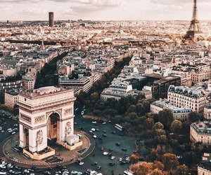 autumn, city, and france image