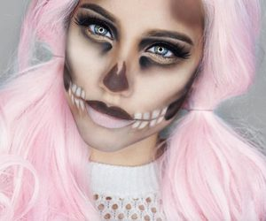 goals, Halloween, and makeup image