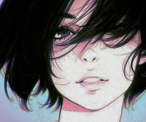 girl, anime, and beautiful image