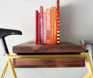 bicycle, bike, and book image