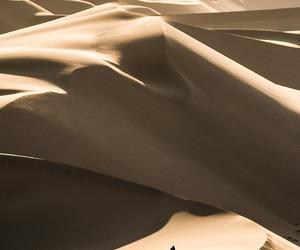 beige, landscape, and desert image