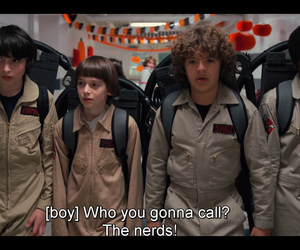 Ghostbusters, nerds, and stranger things image