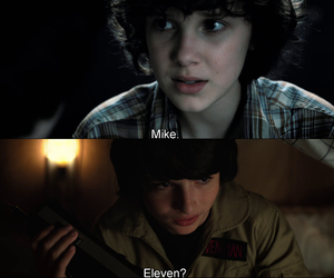 stranger things and mileven image