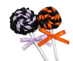 black, candy, and decoration image