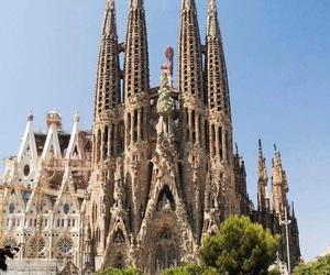 Barcelona, spain, and Sagrada Familia image