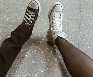 all star, converse, and mine image