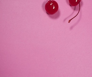 cherry, pink, and fruit image