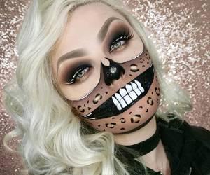 costume, Halloween, and makeup image