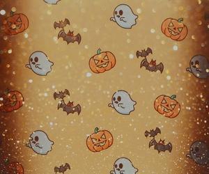 fall, Halloween, and wallpaper image