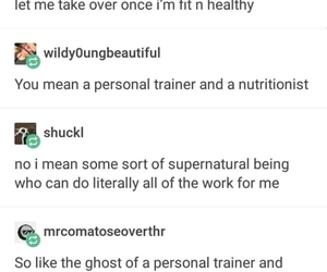 fitness, funny, and hilarious image