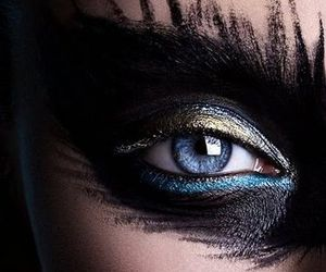 black and makeup image