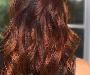 auburn, chocolate, and ombre hair image