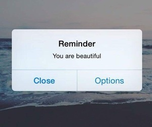 beautiful, iphone, and reminder image