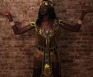 cleopatra, halloween costume, and egyptian queen image