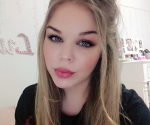 blond and makeup image