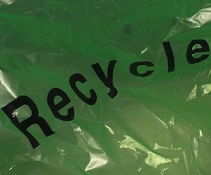 green, aesthetic, and recycle image