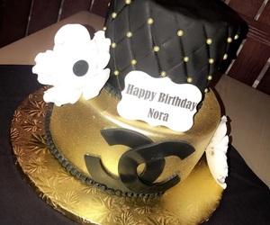 birthday, black, and chanel image