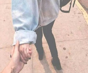 couples, lovers, and hands image