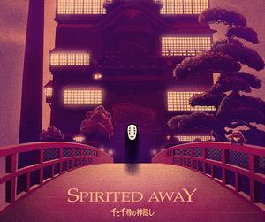 anime, spirited away, and studio ghibli image