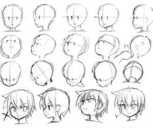 anime, manga, and sketch image