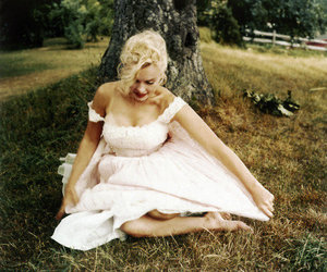 Marilyn Monroe, vintage, and dress image