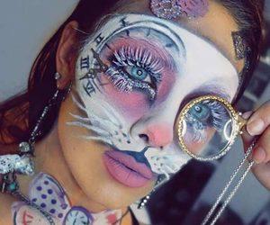 Halloween, alice in wonderland, and makeup image