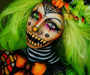 beauty, Halloween, and october image