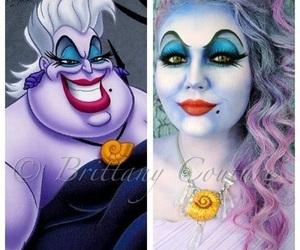 makeup, Halloween, and ursula image