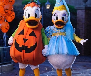 disney, Halloween, and donald image