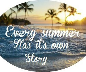summer, story, and text image