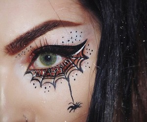 beauty, eyes, and Halloween image