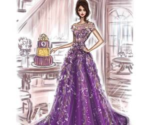 dessin, dress, and robe image